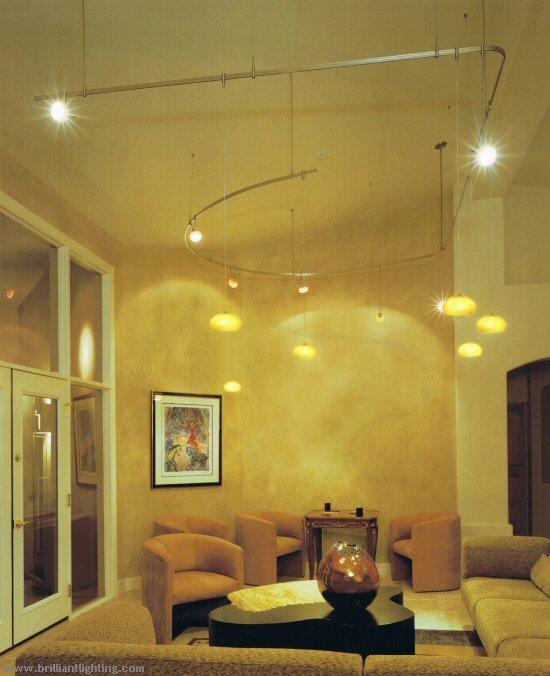 Track Lighting Living Room: Tech Lighting Residential Applications
