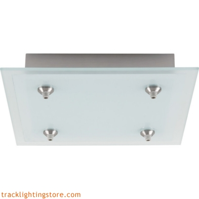 12 Inch 4-Light Square Fusion Jack Canopy - Incandescent