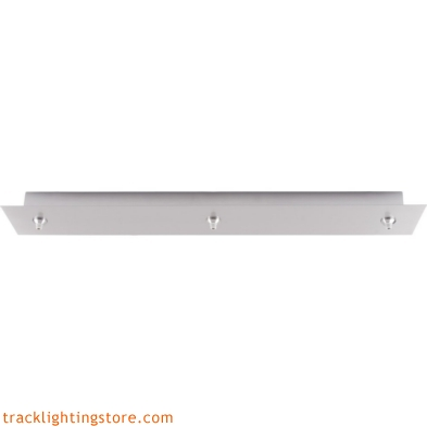 26 Inch 3-Light Rectangular Fusion Jack Canopy - Halogen