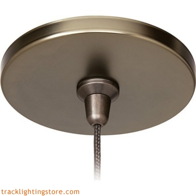 Fusion Jack 4 Inch Round Flush Canopy - Incandescent
