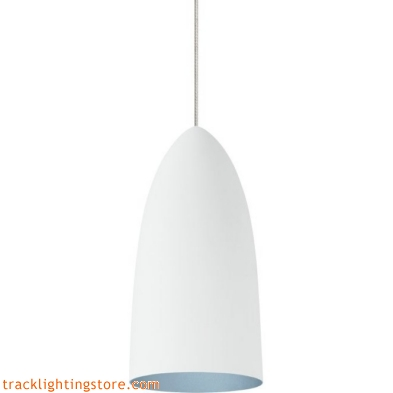 Mini- Signal Pendant - Rubberized White/Blue - Halogen