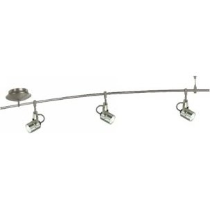 4 Foot 150 Watt Monorail Kit with 3 Spot Heads