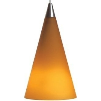 Cone Pendant - Amber