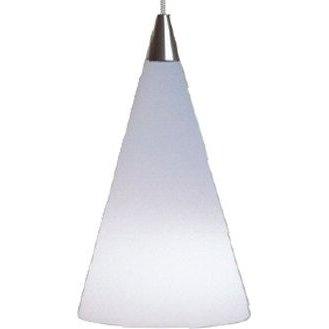 Cone Pendant - White