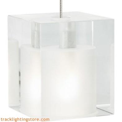 Cube Pendant - Frost
