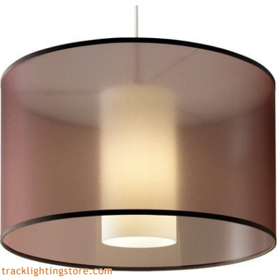 Dillon Pendant - Brown - Incandescent