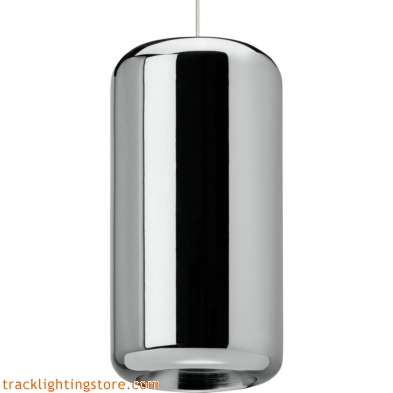 Iridium Pendant - Metallic Chrome - Incandescent