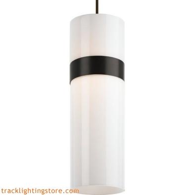 Manette Grande Pendant - White Acrylic/White Acrylic - LED