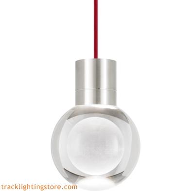 Mina Pendant - Clear - Red - LED - 90 CRI 2200K 700TDMINAP11CRS-LED922
