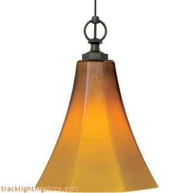 Mini Delaware Pendant - Amber