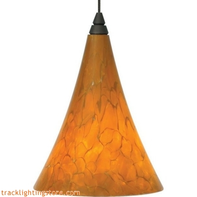 Mini Melrose Pendant - Tahoe Pine Amber - LED