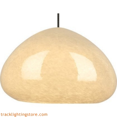 River Rock Pendant Soft Round - Sand