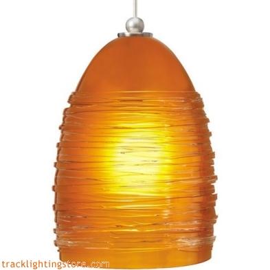 Small Nest Pendant - Amber