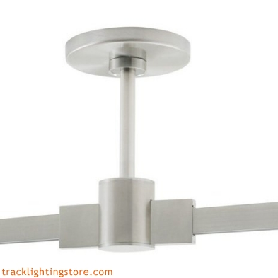 T-Trak 4 Inch Round Power Feed Canopy With Connector - 2 Inch