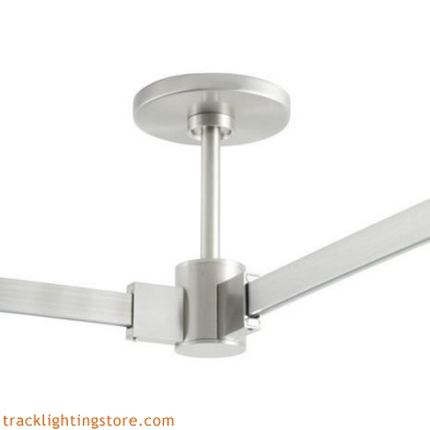 T-Trak 4 Inch Round Power Feed Canopy With L Connector - 12 Inch
