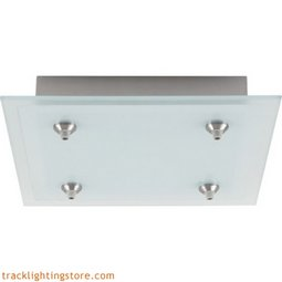 12 Inch 4-Light Square Fusion Jack Canopy - LED