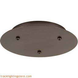 13 Inch 3-Light Fusion Jack Canopy - Incandescent (277 Volt)