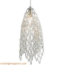 Mademoiselle No. 1 Pendant - Clear Crystal - LED