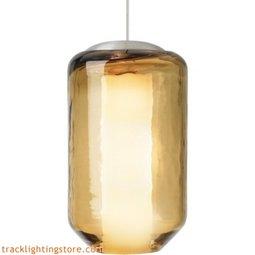 Mini Mason Pendant - Amber - LED