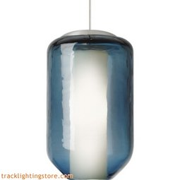 Mini Mason Pendant - Steel Blue - LED