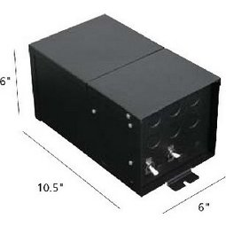 Remote mount magnetic transformer (277 volt input / dual circuit / 12 volts / 300 watts)