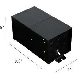 Remote mount magnetic transformer (12 volts / 300 watts)