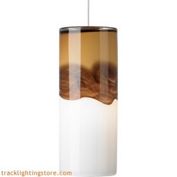 Rio Pendant - Amber/Dark Brown