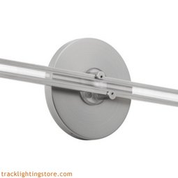 Wall Monorail 4 Inch Round Direct Feed Canopy Single Feed