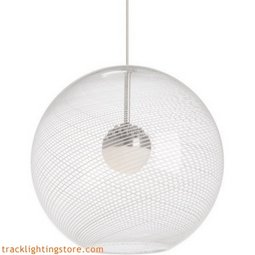 Palestra Pendant - Opal/Clear - LED - 90 CRI 3000K