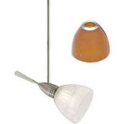 Aero Head - Soda Glass Shade - Amber