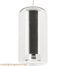 Amira Pendant - Clear/Satin nickel - LED Warm DIM 3000K - 2200K