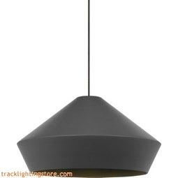 Brummel Pendant - Charcoal Gray - Halogen