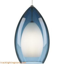 Fire Grande Pendant - Steel Blue