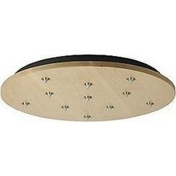FreeJack 11 Port Round Canopy - All Antique Bronze