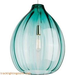 Harper Pendant - Surf Green - Incandescent