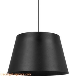 Henley Pendant - Textured Black/Black - Incandescent