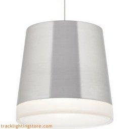 Henrik Grande Pendant - Brushed Aluminum - Incandescent