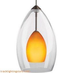 Inner Fire Pendant - Amber