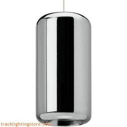 Iridium Pendant - Metallic Chrome - Incandescent