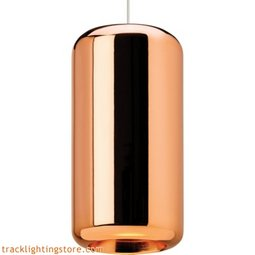 Iridium Pendant - Metallic Copper - LED 80 CRI 3000K
