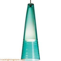Isella Pendant - Surf Green - Incandescent