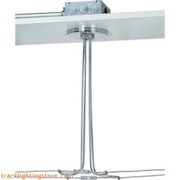 Kable Lite 4 Inch Round Through-Ceiling Hardwire Dual Power Feed