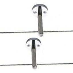 Kable Lite Rigid Post Standoff - 12 Inch post standoffs (pair)
