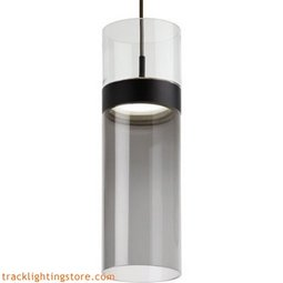 Manette Grande Pendant - Clear Glass/Tranparent Smoke Glass - LED
