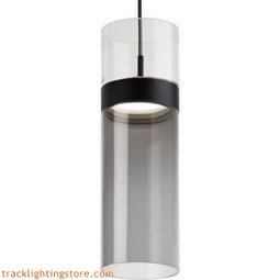 Manette Grande Pendant - Clear Glass/Tranparent Smoke Glass - LED