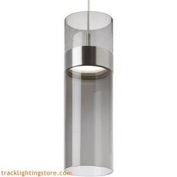 Manette Grande Pendant - Tranparent Smoke Glass/Tranparent Smoke Glass - LED