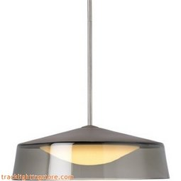 Masque Grande Pendant - Smoke/Gray - LED