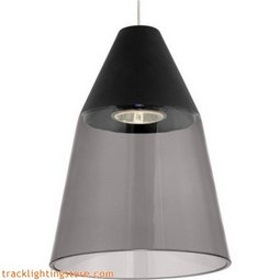 Masque Pendant - Smoke/Black - LED (12 Volt)