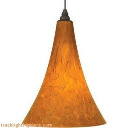 Melrose Pendant - Tahoe Pine Amber - LED