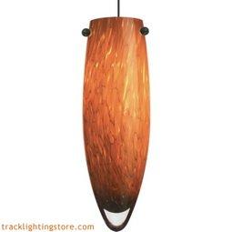 Melt Pendant - Amber Frit - LED